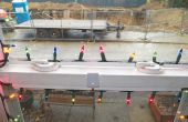 Instalación de luces de Navidad para ventanas de vinilo
