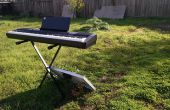 Piano teclado de energía solar