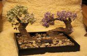 ¿árbol de los bonsais de cartón