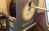 Hack de vida: 30 segundo 3D impresora filamento portacarretes