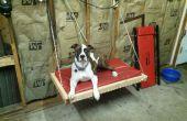 $20 de descuento en el piso doble pared-colgante cama del perro (dog de 65lb)