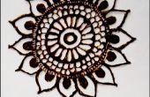 Diseño DIY de henna