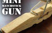 Mini pistola de fósforo - la pistola de bolsillo de pinza para la ropa