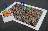 Realidad aumentada en 3D de la unidad