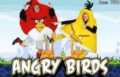 Disfraces de Halloween caseros Angry Birds!