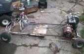 Eléctrica Go Kart de vieja basura (On a Budget)