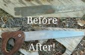 Sierra de mano restauración