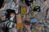 BRICOLAJE | Cráneo gótico y Chocker tachas Spike (con sin coser)