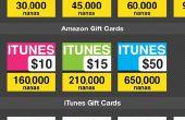 AppNana un sitio se puede ganar gratis tarjetas de regalo (itunes, Amazon, PayPal en efectivo)