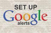 Pasos fáciles para crear alertas de Google
