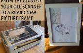 Convertir el escáner muerto en un marco de imagen
