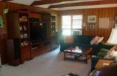 Cubierta de paneles de madera (sala renovación)