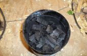 Carbón de leña baratos suciedad