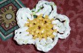 Flores de bolsas de plástico. 3 ideas / Flores con Bolsas. 3 ideas