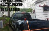 Convierta su camioneta a un plano