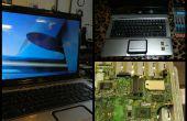 ¿Cómo reparar un ordenador portátil sin imagen?