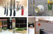 17 formas sencillas para organizar su cocina