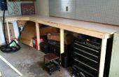Banco de trabajo garaje barato y fácil