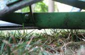 Afilar una cortadora de carrete de empuje