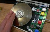 HDDJ: Convertir un viejo disco duro en un dispositivo de entrada giratorio