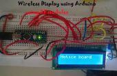Sistema de tablón de anuncios usando Arduino sin hilos