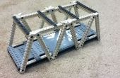 Construcción de un puente del braguero de modelo