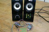 Reloj binario de 12 horas, horas y minutos, RTC DS1307, i2C, Arduino Nano