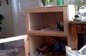Construir una jaula de conejo interior