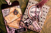 ¿Travieso o Niza? : Etiqueta y titular de la tarjeta de regalo de regalo