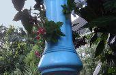 Reciclar el flotador de la piscina en colgantes titular de planta