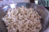 Cómo hacer dulces y palomitas de maíz saladas