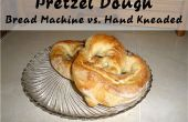 Masa pretzel - máquina de pan vs mano amasa