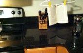 Barato y fácil colgar soporte de libro de cocina