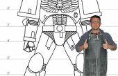 Construir espacio de Lifesize armadura Marina en 352 terriblemente complicados pasos de