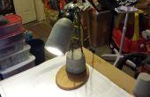 Lámpara de escritorio de concreto