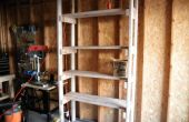 Simple Garage Shelf
