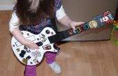 Ukelele Hero o un controlador de Guitar Hero para los niños pequeños