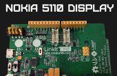 Pantalla del Nokia 5110 LinkIT uno