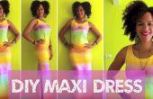 Vestido de arco iris DIY en 15min