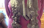 Bufanda de las lanas Felted impresionable