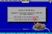 Con un ratón en los programas de QBasic
