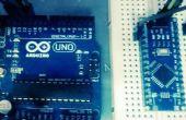 Programar Arduino Nano via Uno con ICSP