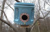 Cajas nido verde utilizando latas de Folgers