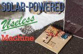 Máquina inútil de energía solar