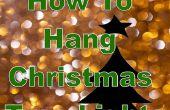 El arte de la iluminación de un árbol de Navidad: Vertical vs Horizontal
