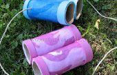 Binoculares de tubo de cartón