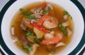 Perfecto sopa caliente y amarga para el invierno
