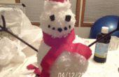 Permite construir a un hombre de nieve!