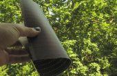 Desmitificando (y cortar al tamaño) paneles solares flexibles de película delgada (Fuji F-agite)