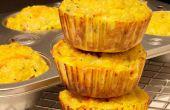 Muffins de Quinoa vegetarianas